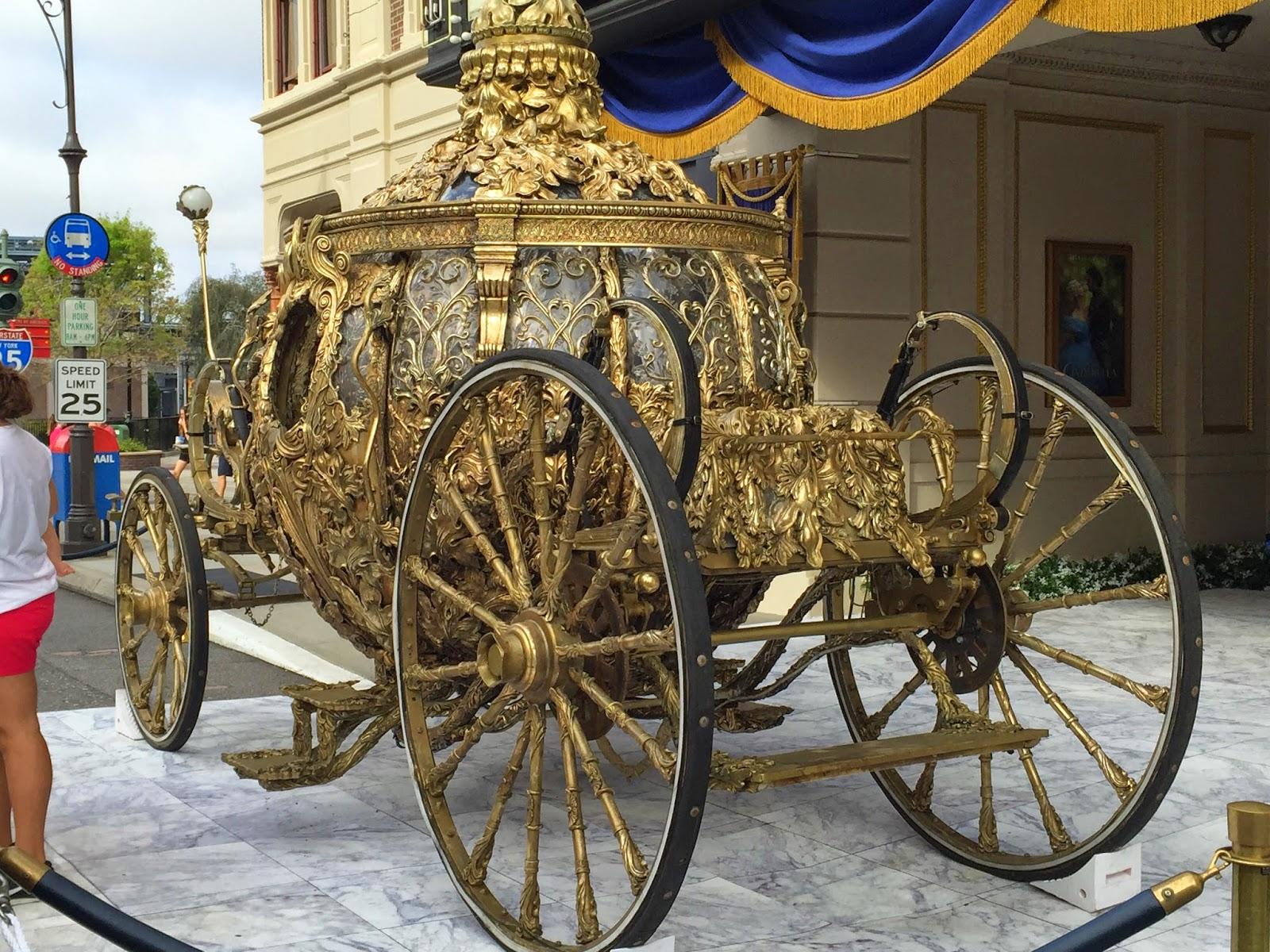 Disney Musings: Cinderella's Carriage at Disney's ...