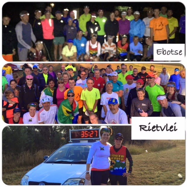 Ebotse and Rietvlei parkrun