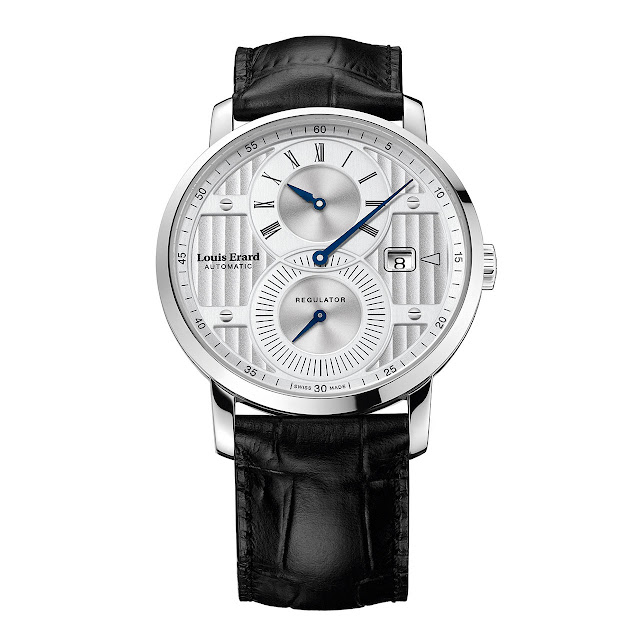 Louis Erard Excellence Regulator Mechanical Automatic Watch