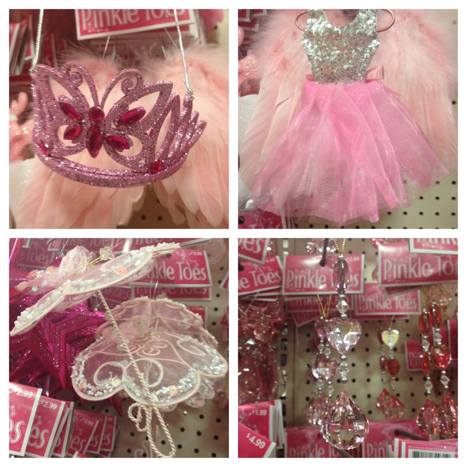princess ballet and parasol decor items pink pink and more pink