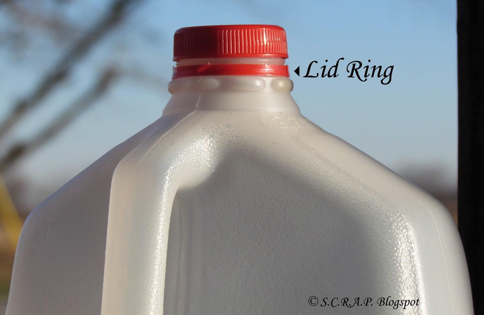 Granny Square Milk Ring Ornament SCRAP