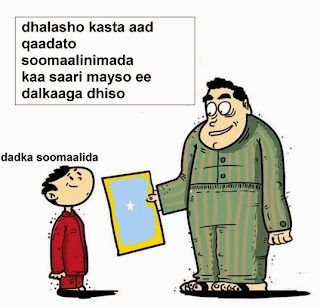 Somaliimada kaama harayso sabata day