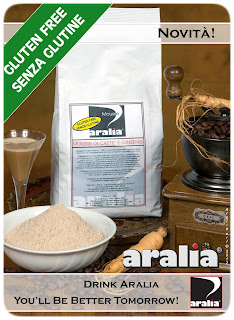 Aralia Ginseng Coffee Collaborazione Mousse