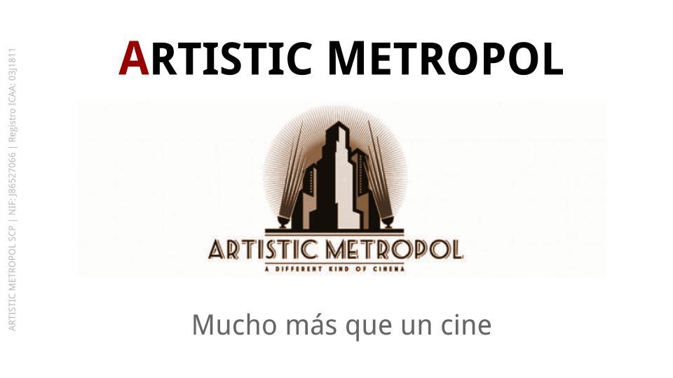 Tu sala de cine en Madrid