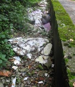 I rifiuti edili crescono a Salvano