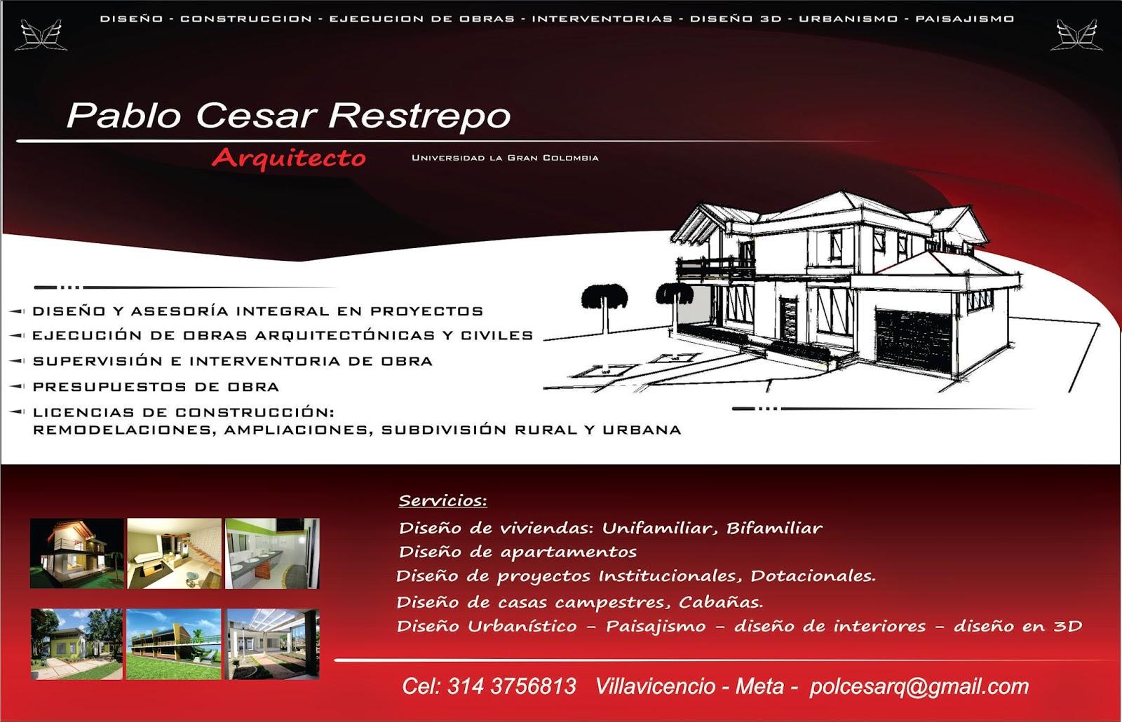 Servicios de arquitectura for Paginas de construccion y arquitectura