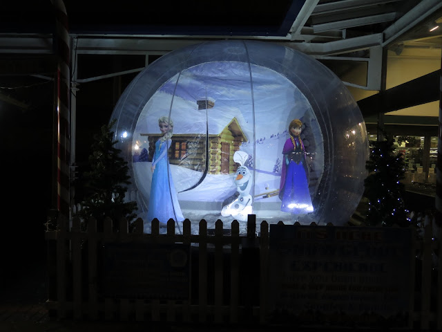 Giant Frozen Snow Globe