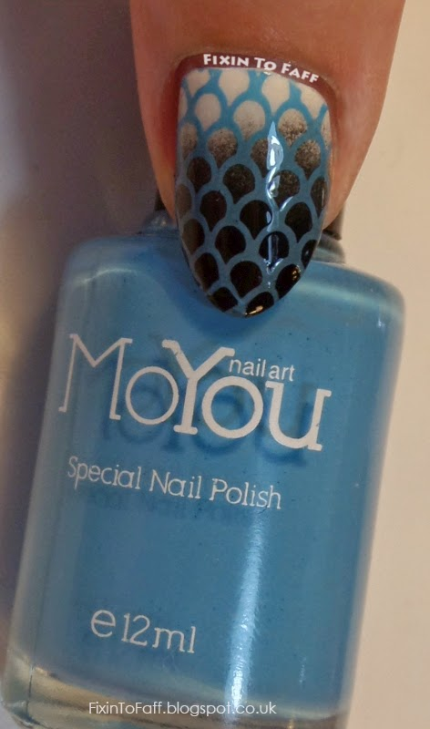 MoYou Nails Special Nail Polish swatch Light Blue
