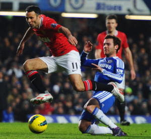 Chelsea vs Manchester United dalam Statistik