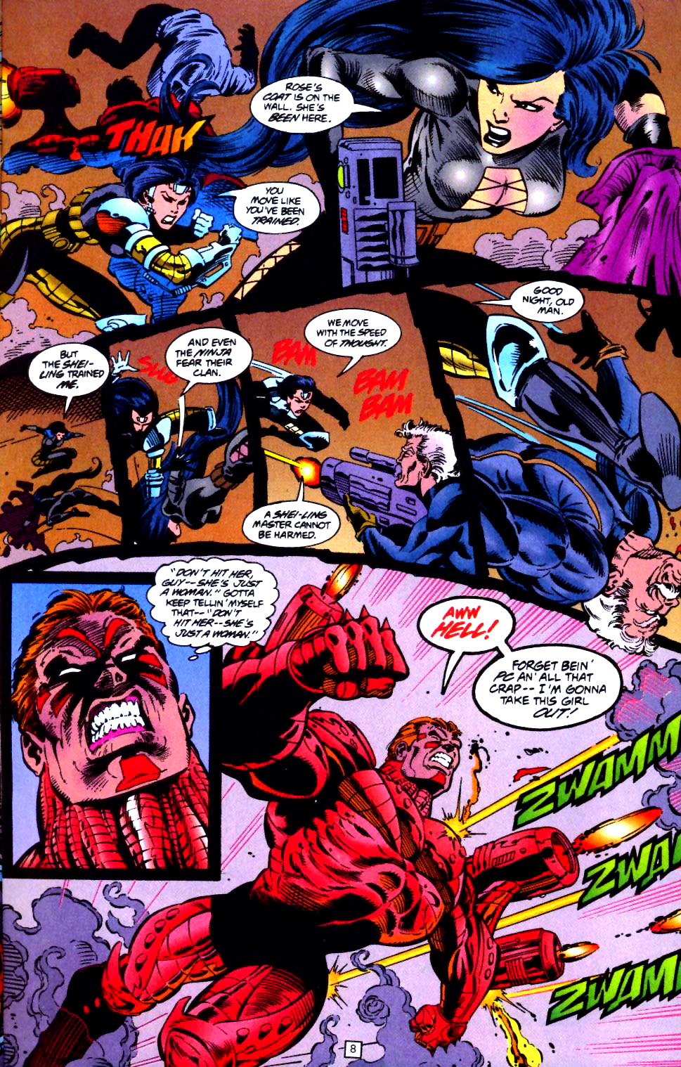 Deathstroke (1991) Issue #44 #49 - English 9