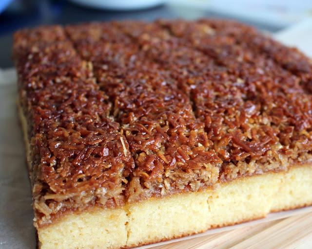 Danish Coconut Dream Cake