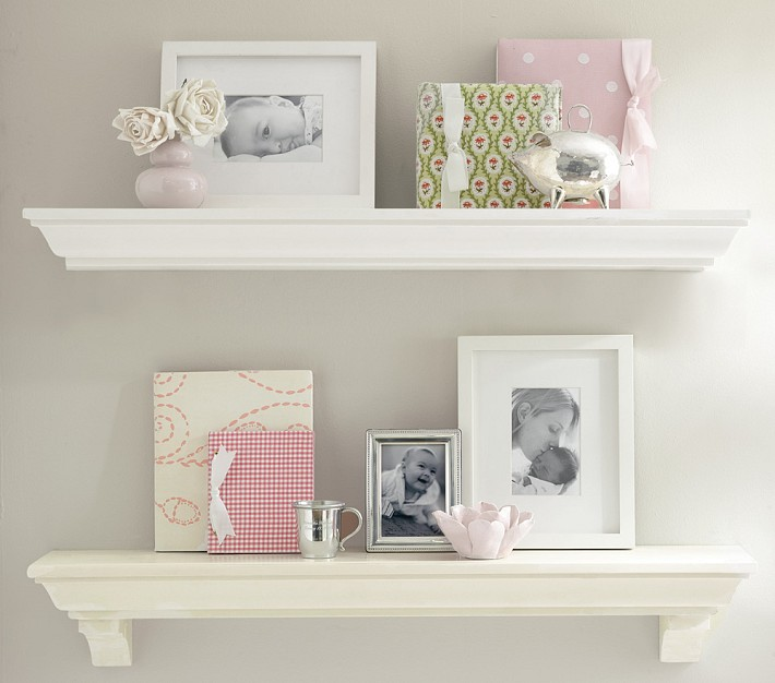 Pottery Barn Crown Molding Shelf