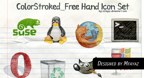 Free Hand Draw Icons