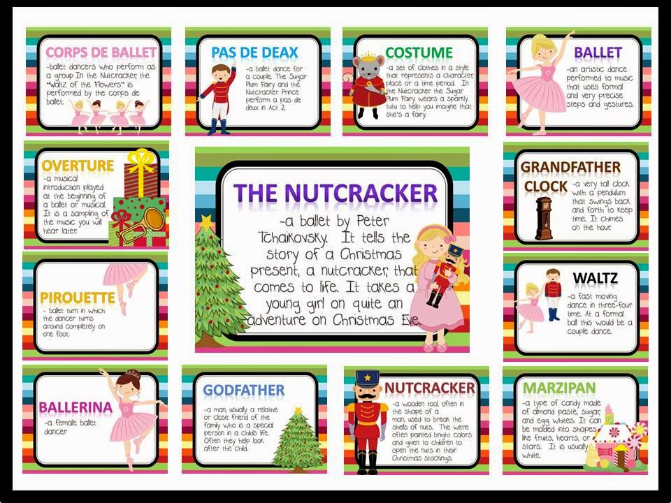 http://www.teacherspayteachers.com/Product/Nutcracker-Vocabulary-Bulletin-Board-Kit-1003503