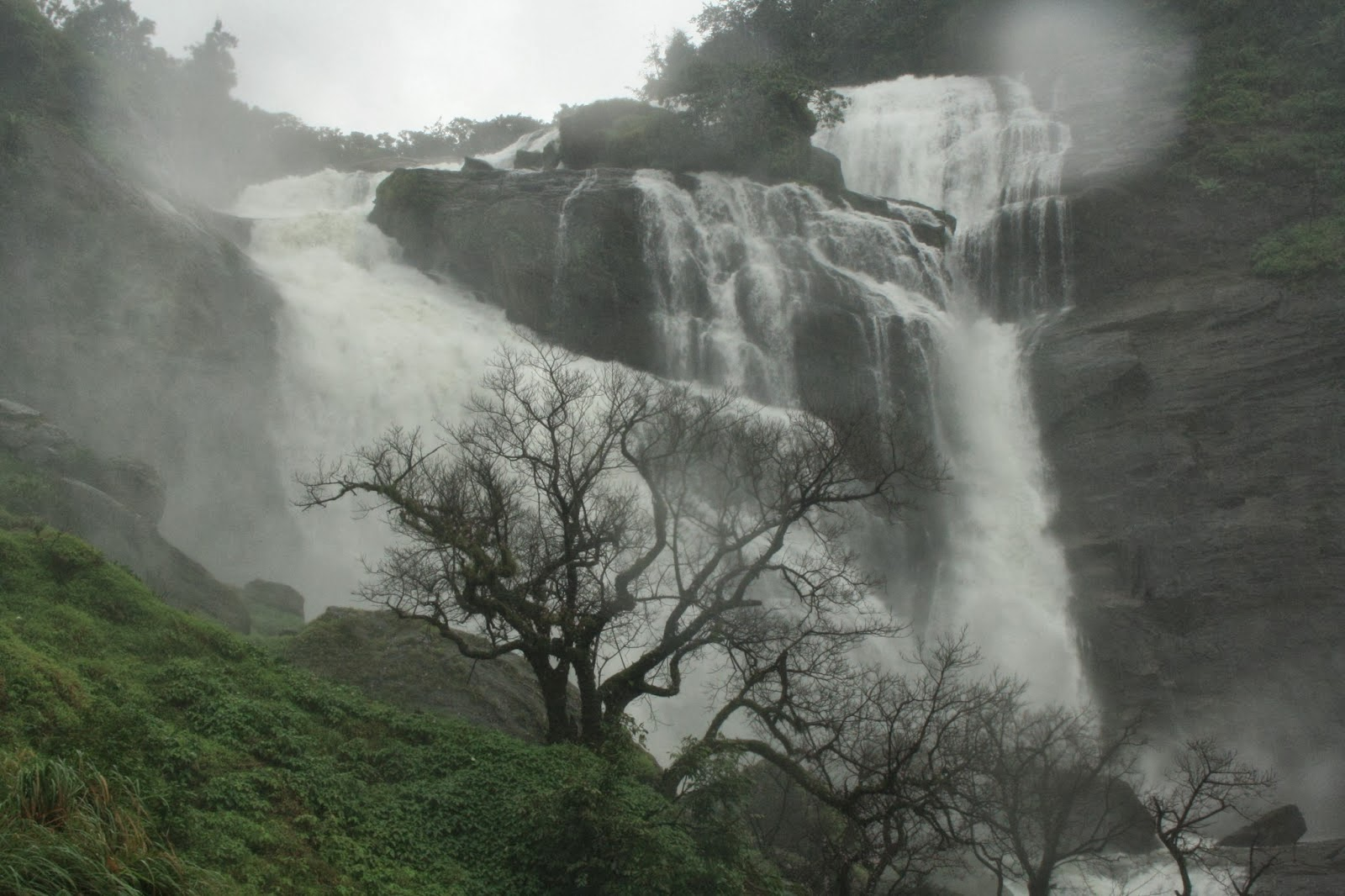 Coorg waterfalls, Mallali waterfall