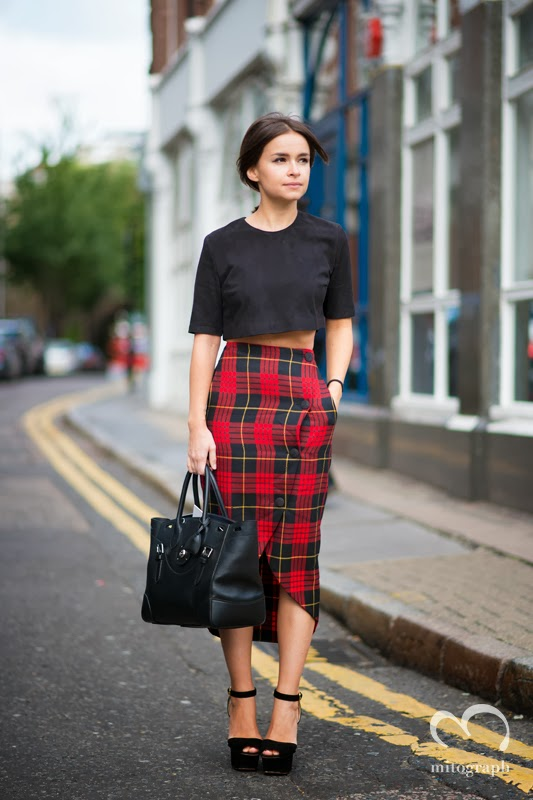 mitograph Miroslava Duma after Christopher Kane London Fashion Week 2014 Spring Summer LFW Street Style Shimpei Mito
