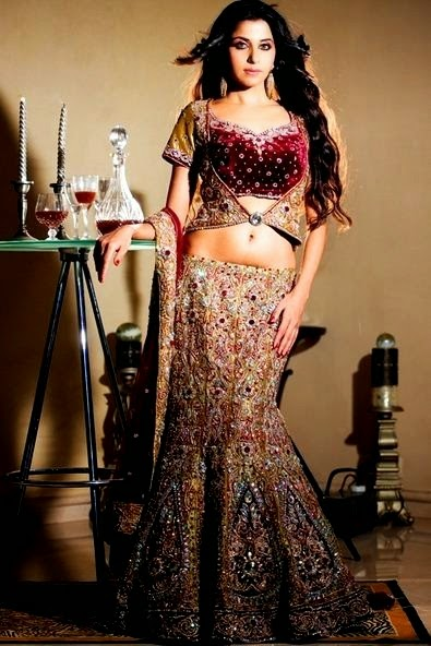 BIBI London Lehenga Collection 2014