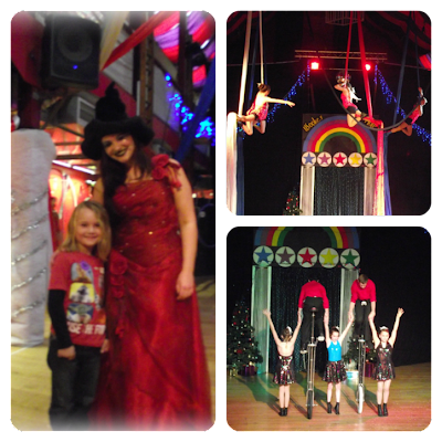 Wookey Hole Circus show
