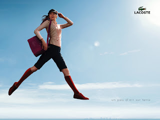 Lacoste Cool Women Wear Hat Bag Shirt Ads HD Wallpaper