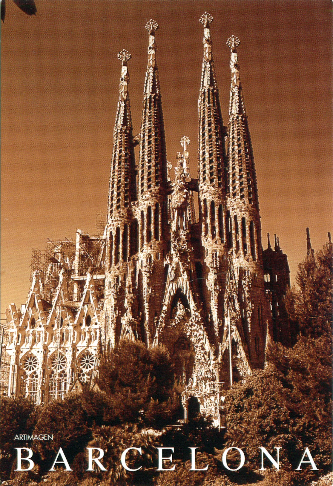 World come to my home 0183 spain catalonia sagrada for Barcelona famila