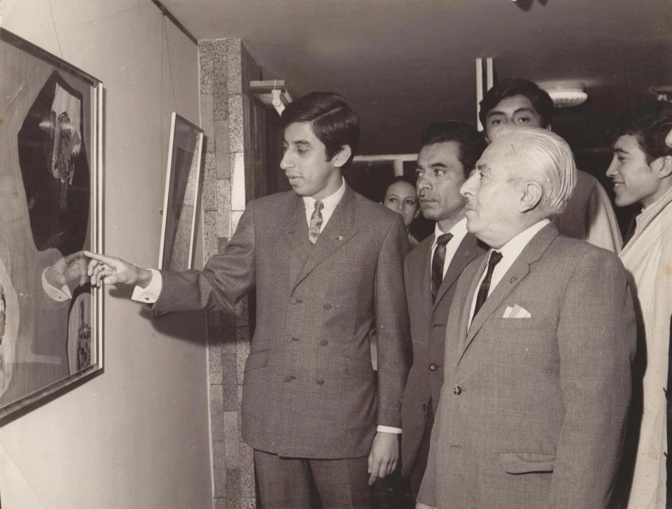 "PRIMERA EXPOSICION - GALERA ""LA FAMILIA"" 1968 - LIMA."