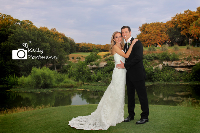 The Hills Country Club, The Hills of Lakeway, Austin Wedding, Lace Wedding dress