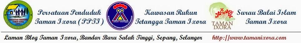 Laman Blog Taman Ixora, Bandar Baru Salak Tinggi, Sepang, Selangor