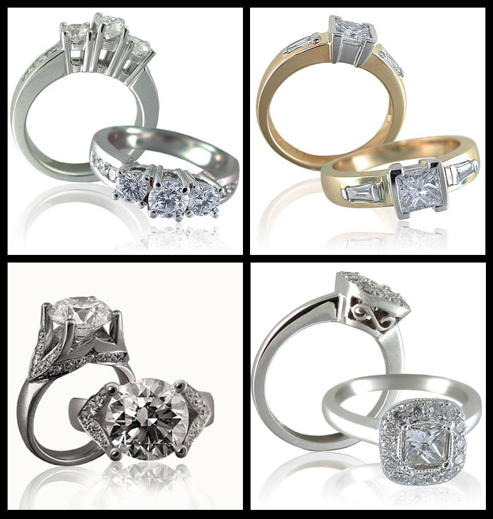 The Story of The Diamond Engagement Rings | My Jewelry Boxes ...