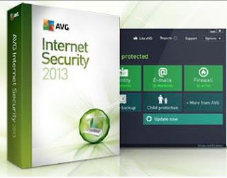 AVG Internet Security 2013 Free License 1 Year