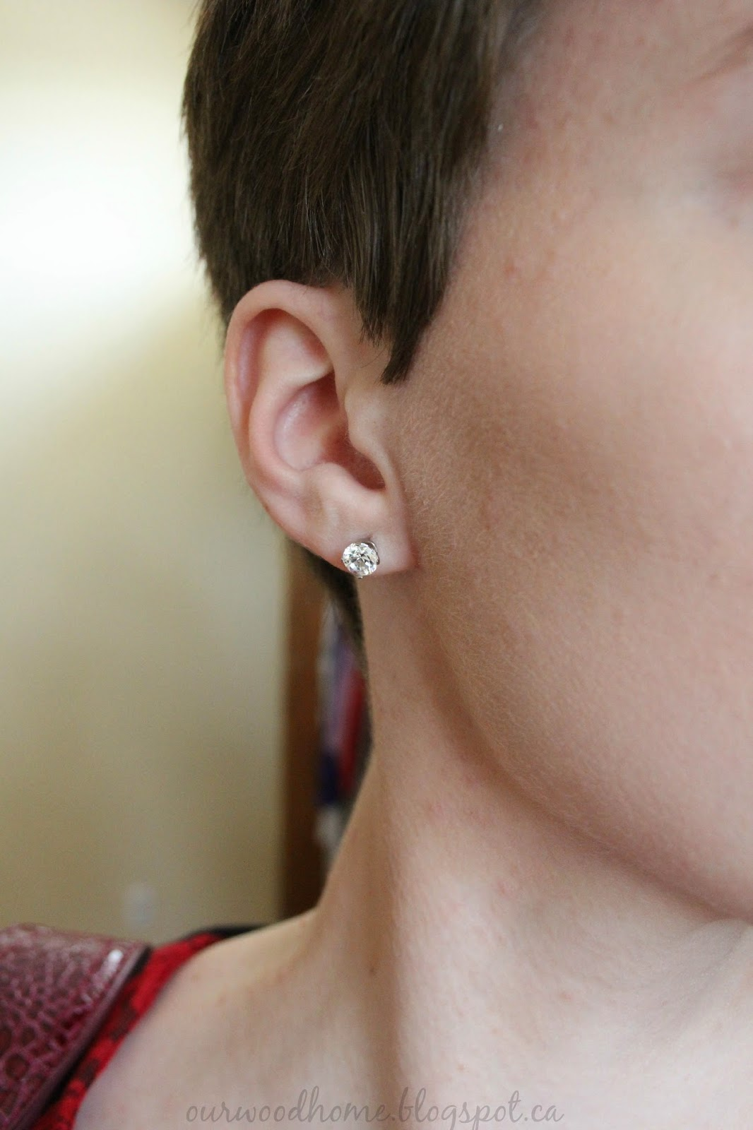 cubic zirconium earrings