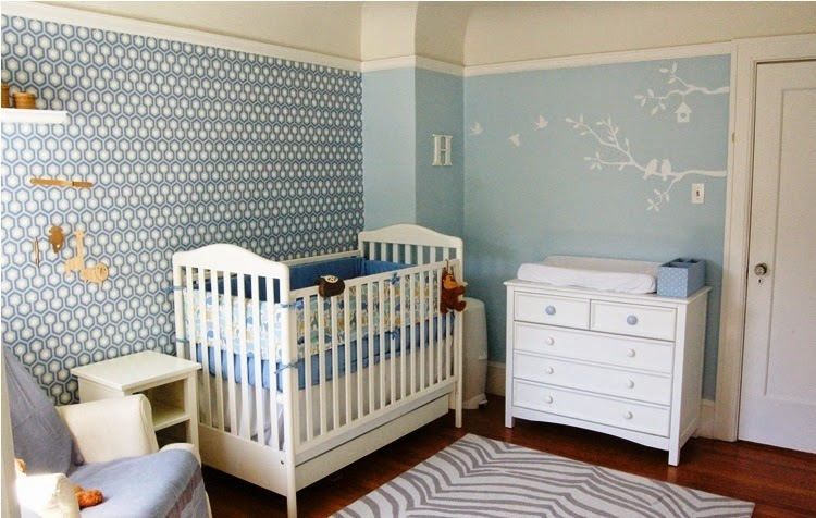 wall ideas for baby boy room