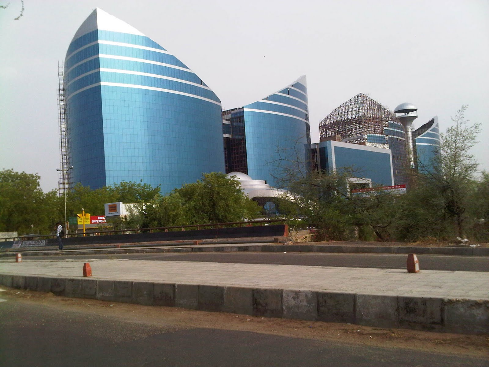 vikas jangid jerthi world trade park