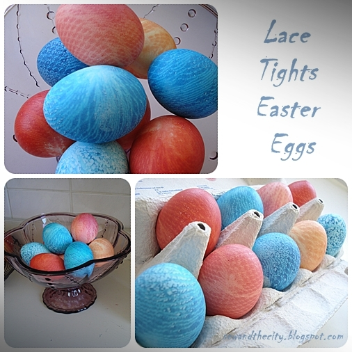 Sew and the city lace tights easter eggs lace tights easter eggs negle Images