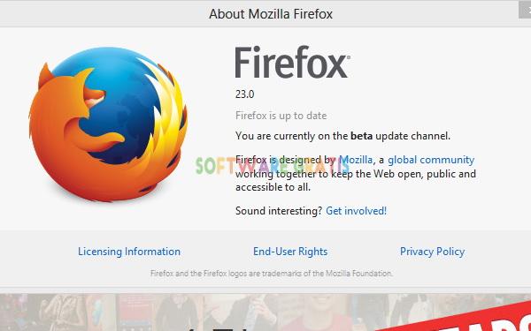 Mozilla Firefox Terbaru Versi 23.0 Beta 1