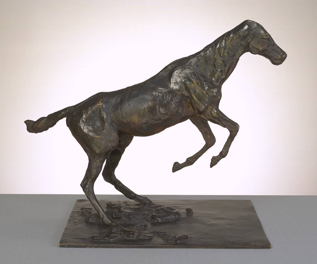 Edgar  Degas  Horse  Clearing  an  Obstacle