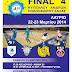 Το κλειστό του Λαυρίου θα υποδεχτεί το Final-4 Κυπέλλου Ανδρών Ποδοσφαίρου Σάλας