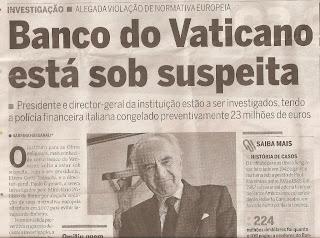 Papa recebeu ameaça em 2012?