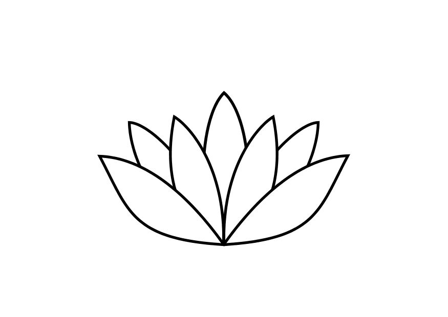 lotus flower coloring pages - photo#15