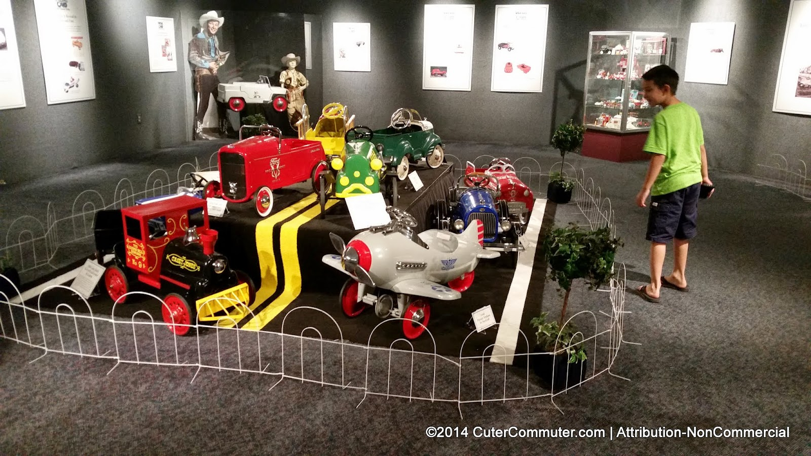 Pedal cars at the National Automobile Museum