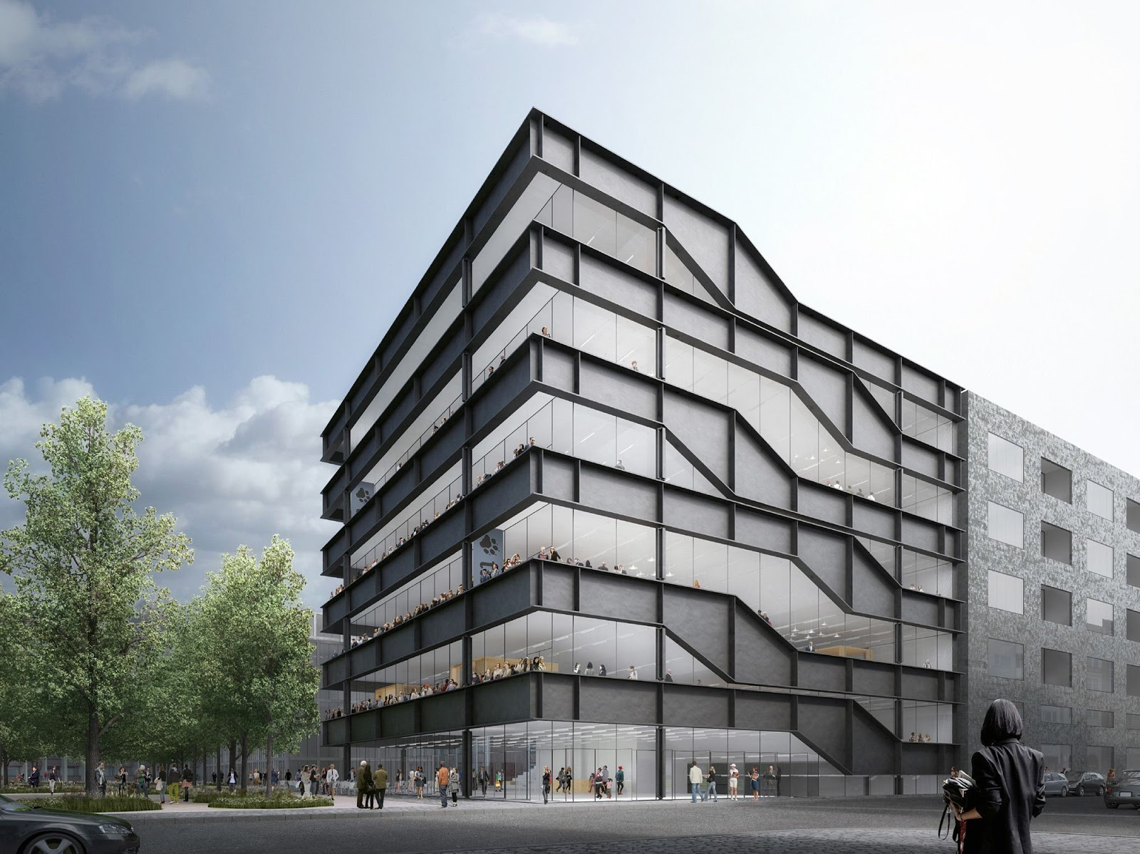 Heneghan peng architects a f a s i a for Architecture berlin