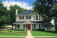 Foto de casa bonita americana