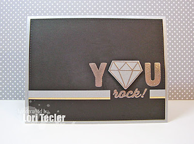 You Rock card-designed by Lori Tecler/Inking Aloud-stamps from Avery Elle