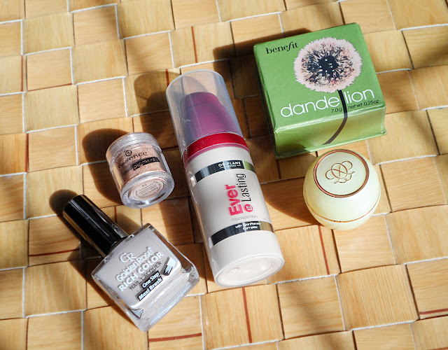 beauty haul, products love
