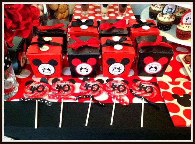 Mickey Mouse Decoracion Fiesta ~ Decoraci?n de Fiesta de Mickey Mouse  Fiestas Infantiles Decora