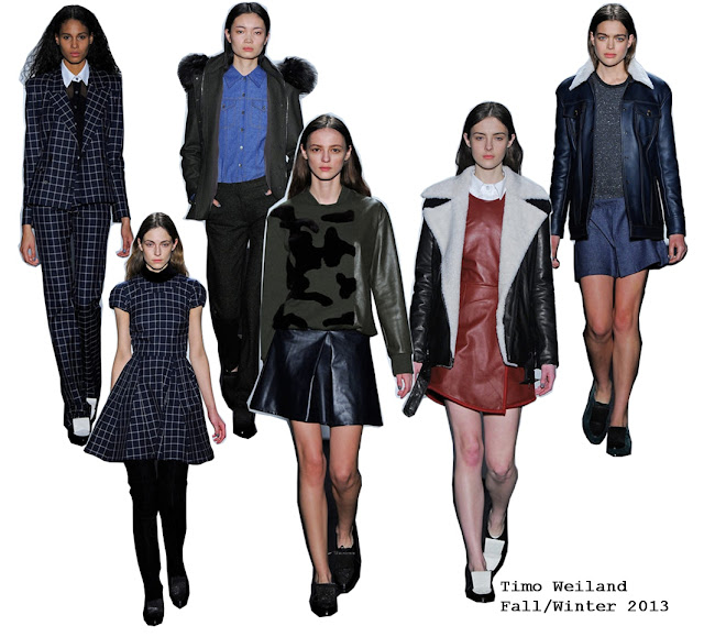 Timo Weiland Fall/Winter 2013 Collection