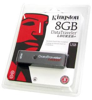 Acessório da Kingston funciona em PCs e Macs, protege seus arquivos com senha e criptografia de nível militar e ainda assim é fácil de usar.
