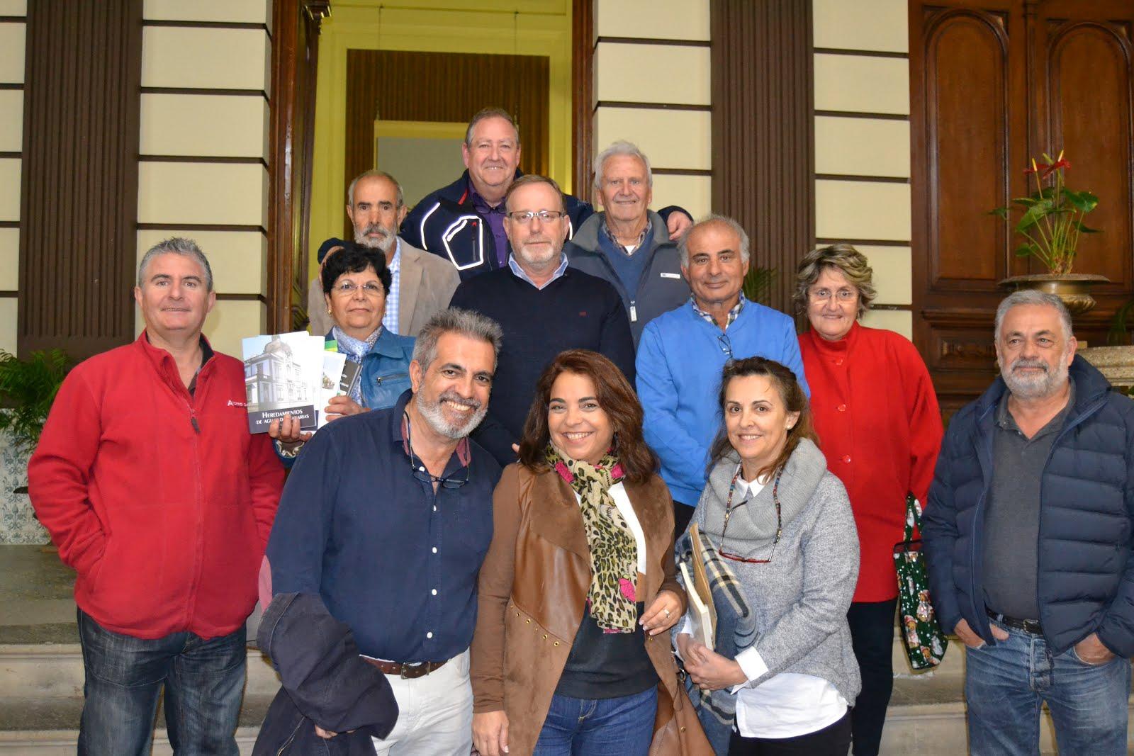 Visita de la Heredad de Sardina del Sur
