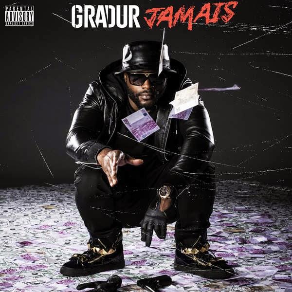 Gradur - Jamais - Single Cover