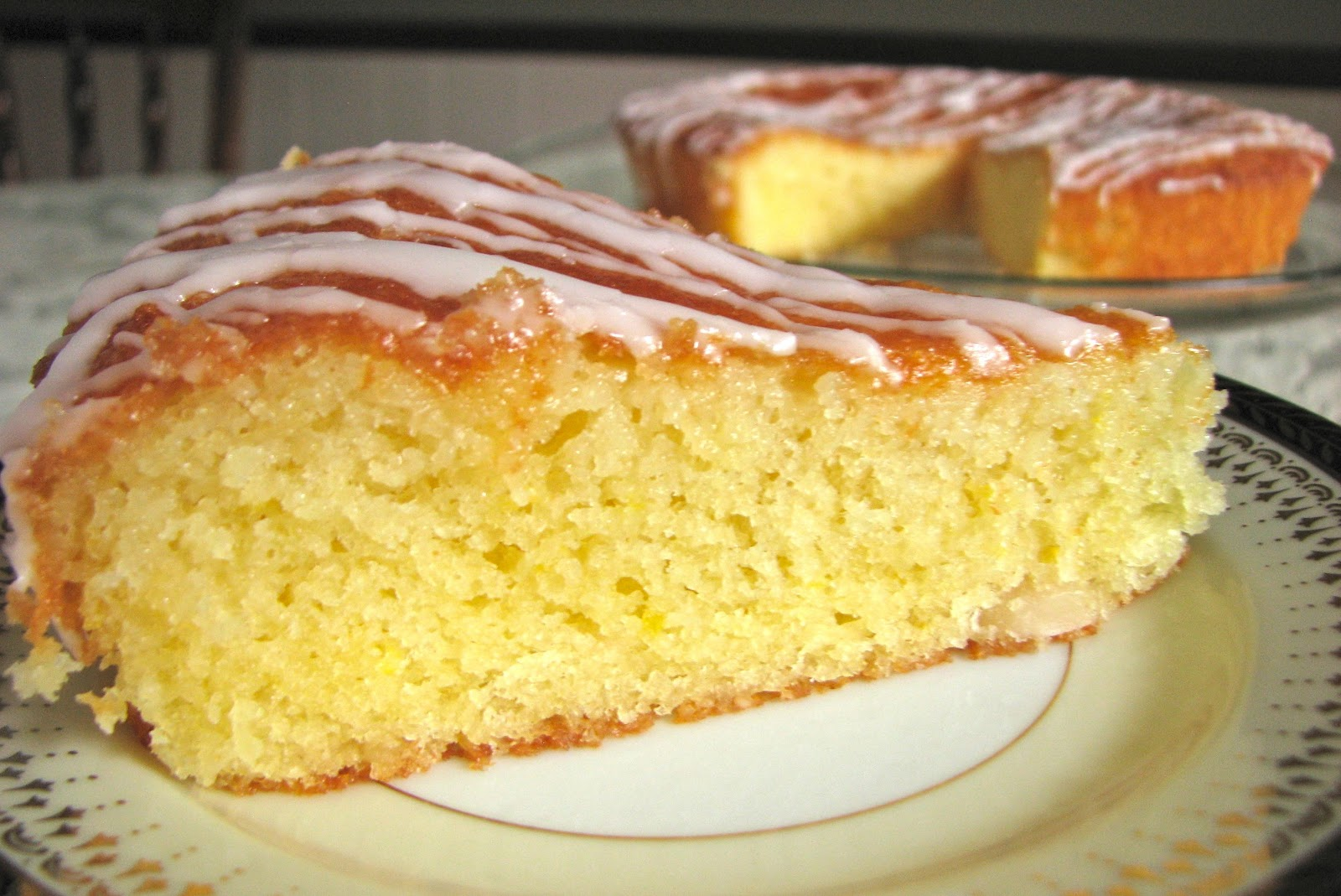 Delectably Mine: French Style Lemon Yogurt Cake