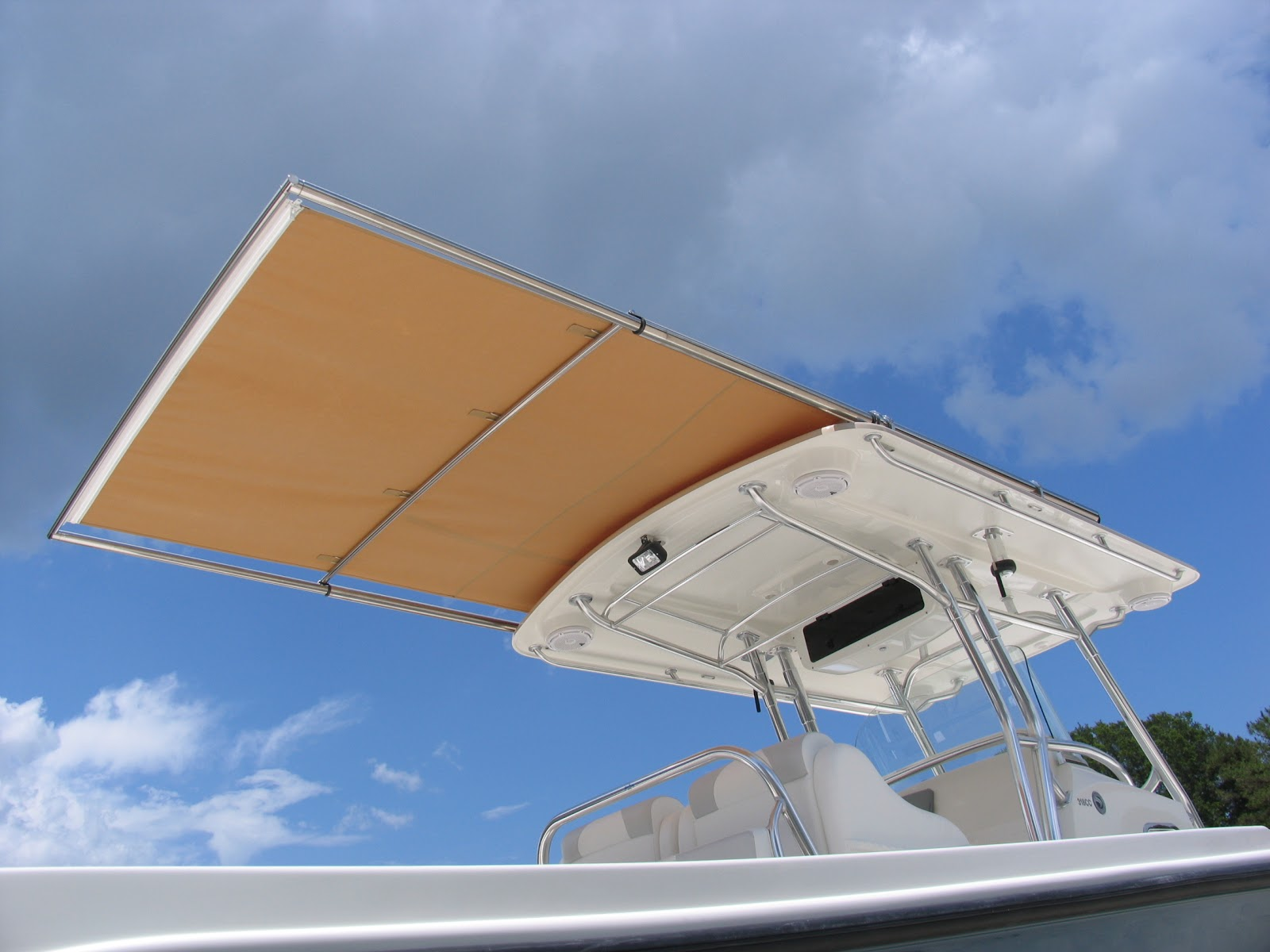 T Top Canvas Extensions With Retractable Shade Sureshade